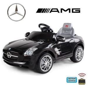 Original Mercedes-Benz AMG SLS Lizenz im Kinderauto Test