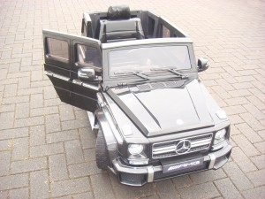 Mercedes-Benz G63 AMG im Kinderauto Test