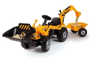 Kindertraktor Builder Max von Smoby