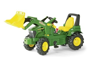 Rolly Toys Traktor - John Deer und Matsch löst sich in Luft auf