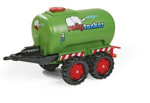 Rolly toys anhänger Tanker fendt grün