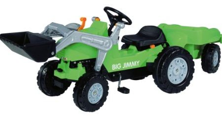 BIG-800056525-Jimmy-Loader-Trailer-Kindertraktor-grn-0