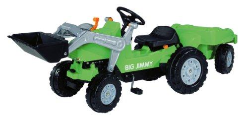 BIG-800056525-Jimmy-Loader-Trailer-Kindertraktor-grn-0