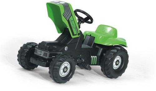 FS-023196-Deutz-Tret-Traktor-mit-Frontschaufel-Anhnger-und-berrollbgel-169cm-0-0
