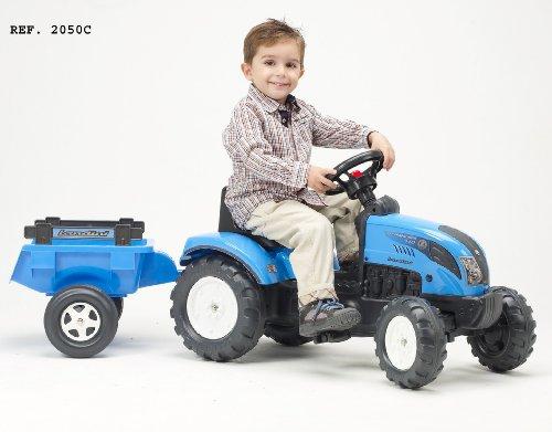 Falk-Kindertraktor-Trettraktor-Landini-blau-mit-Anhnger-ab-2-Jahren-0-0