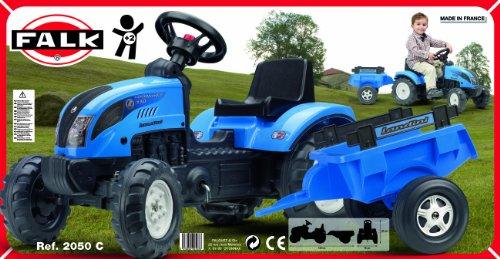 Falk-Kindertraktor-Trettraktor-Landini-blau-mit-Anhnger-ab-2-Jahren-0-1