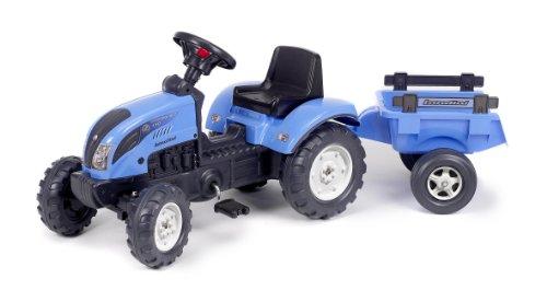 Falk-Kindertraktor-Trettraktor-Landini-blau-mit-Anhnger-ab-2-Jahren-0