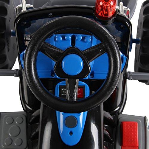 Homcom-Kinder-Kinderfahrzeug-Kindermotorrad-Elektromotorrad-Kinderauto-Elektroauto-Kindertraktor-Elektrotraktor-mit-Schaufel-Kindertraktor2Blau-0-3