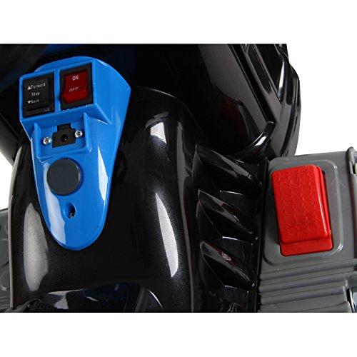 Homcom-Kinder-Kinderfahrzeug-Kindermotorrad-Elektromotorrad-Kinderauto-Elektroauto-Kindertraktor-Elektrotraktor-mit-Schaufel-Kindertraktor2Blau-0-4