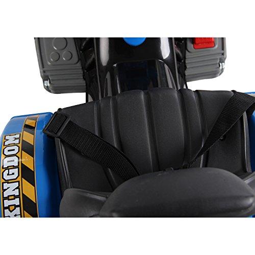 Homcom-Kinder-Kinderfahrzeug-Kindermotorrad-Elektromotorrad-Kinderauto-Elektroauto-Kindertraktor-Elektrotraktor-mit-Schaufel-Kindertraktor2Blau-0-6