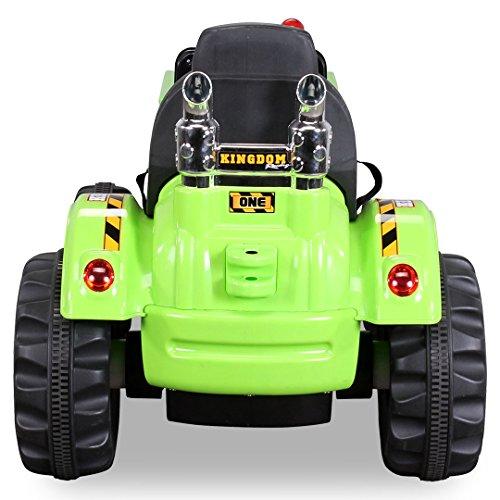 Kinder-Radlader-JS328C-2-x-25-Watt-Motor-Elektro-Lader-Kinderauto-Kinderfahrzeug-grn-0-1