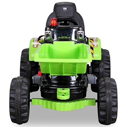Kinder-Radlader-JS328C-2-x-25-Watt-Motor-Elektro-Lader-Kinderauto-Kinderfahrzeug-grn-0-2