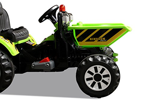 Kinder-Radlader-JS328C-2-x-25-Watt-Motor-Elektro-Lader-Kinderauto-Kinderfahrzeug-grn-0-4