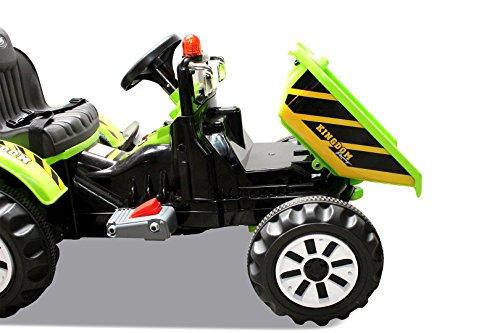Kinder-Radlader-JS328C-2-x-25-Watt-Motor-Elektro-Lader-Kinderauto-Kinderfahrzeug-grn-0-5