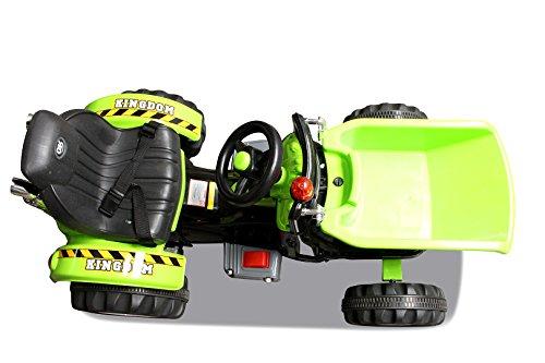 Kinder-Radlader-JS328C-2-x-25-Watt-Motor-Elektro-Lader-Kinderauto-Kinderfahrzeug-grn-0-6