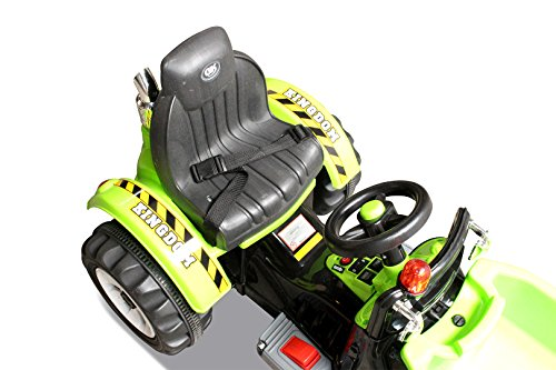 Kinder-Radlader-JS328C-2-x-25-Watt-Motor-Elektro-Lader-Kinderauto-Kinderfahrzeug-grn-0-7