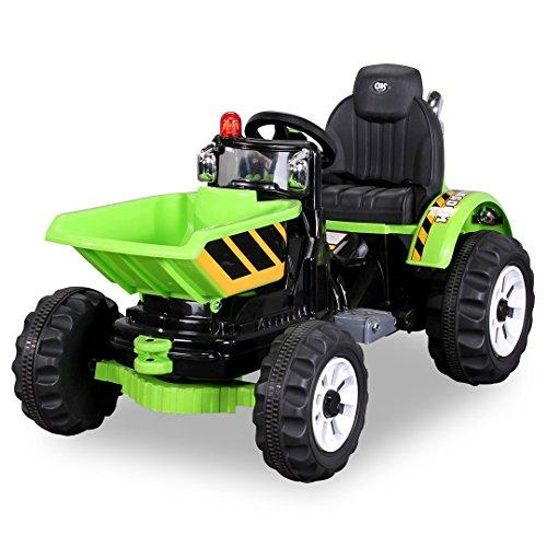Kinder-Radlader-JS328C-2-x-25-Watt-Motor-Elektro-Lader-Kinderauto-Kinderfahrzeug-grn-0