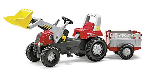 Rolly-Toys-811397-Traktor-Junior-RT-Farm-Trailer-rot-0